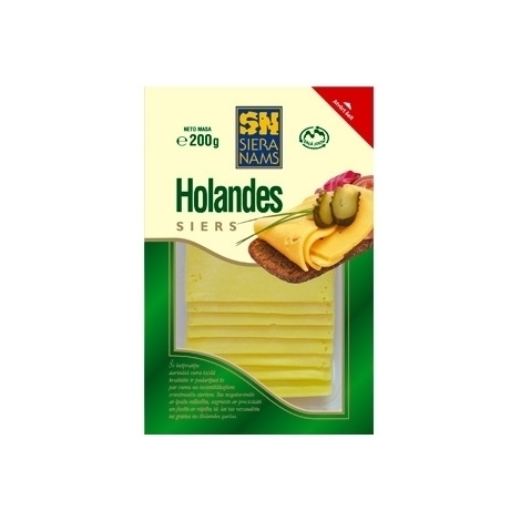 Cheese Holandes slices, Siera Nams, 45%, 150g