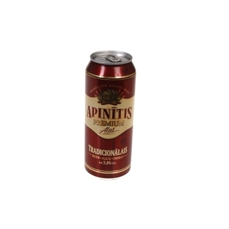 Beer Apinitis traditional canned, 5.8%, 0.5l