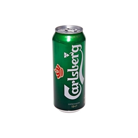 Beer Carlsberg canned, 5%, 0.5l