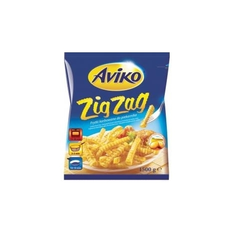 French fries, Aviko Zig Zag, 1.5kg