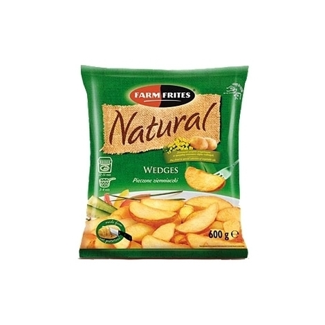 French fries with bark, Natural, 750g