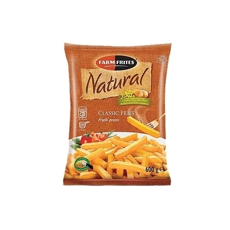 French fries, classically straight straws, Natural, 750g