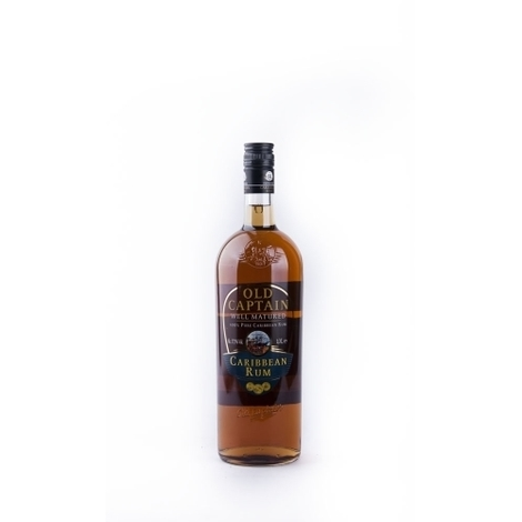 Tumšais Rums Old Captain, 0.7l