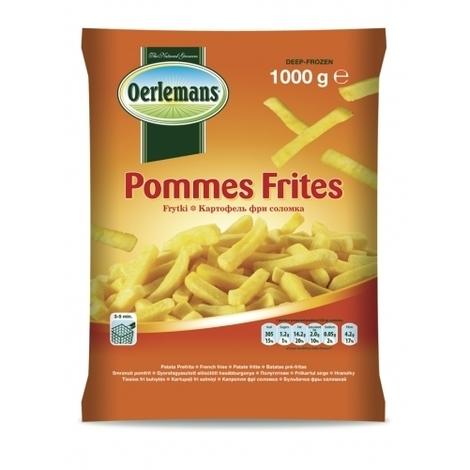 French fries, Oerlemans, 1kg