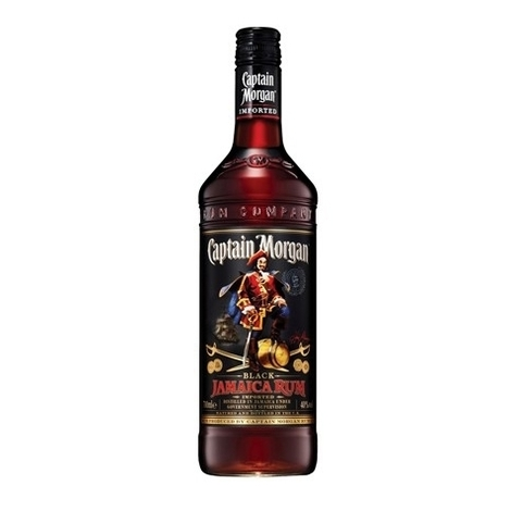Rum Captain Morgan Black Label, 40%, 0.7l