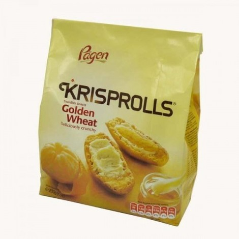 Sausmaizītes Krisprolls, Golden Wheat, 200g