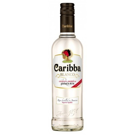 Rum Caribba Blanco, 37.5%, 700ml