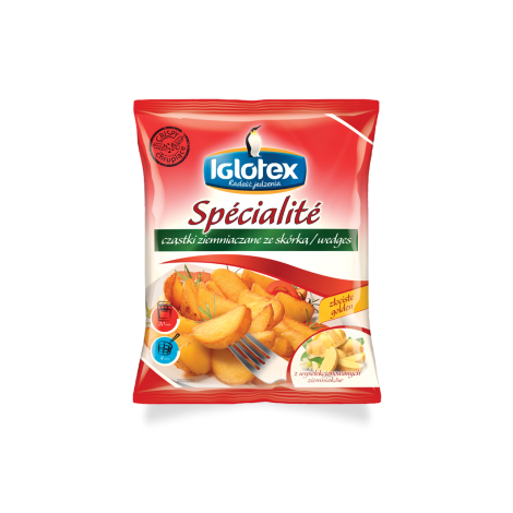 Potato wedges Iglotex, 600g