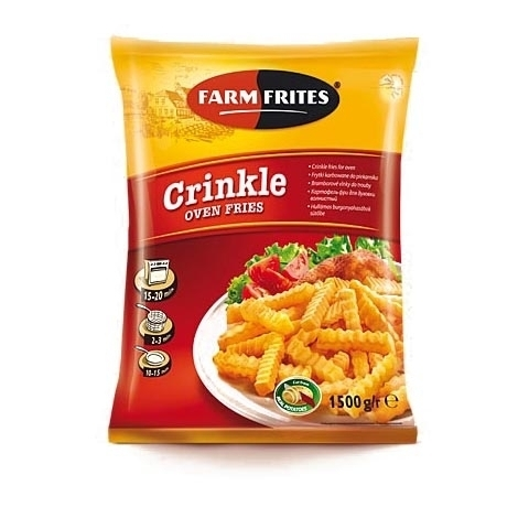 French fries Oven Crinkles, 1.5kg
