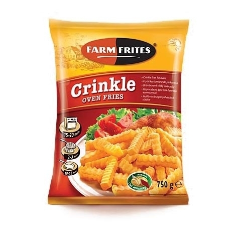French fries Crinkles Oven fries, 750g