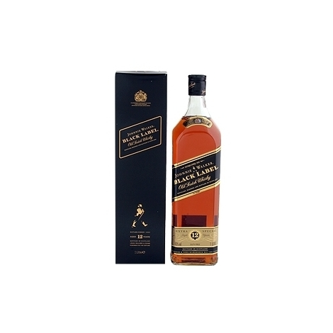 Johnnie Walker Black Label kārbā, 40%, 0.7l