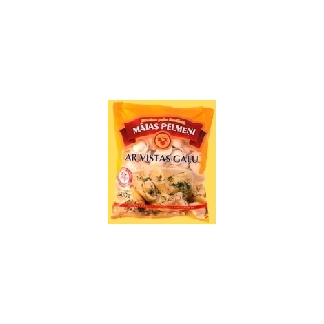 Home dumplings with chicken, RGK, 500g