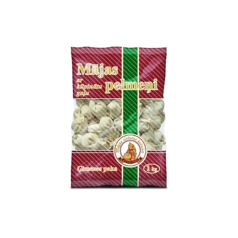 Home dumplings with smoked pork, Family pack, 1kg