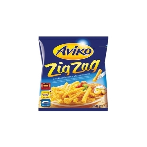 French fries, Aviko Zig Zag, 750g
