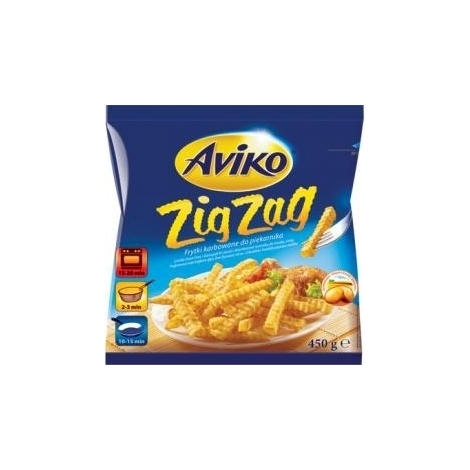 French fries, Aviko Zig Zag, 450g